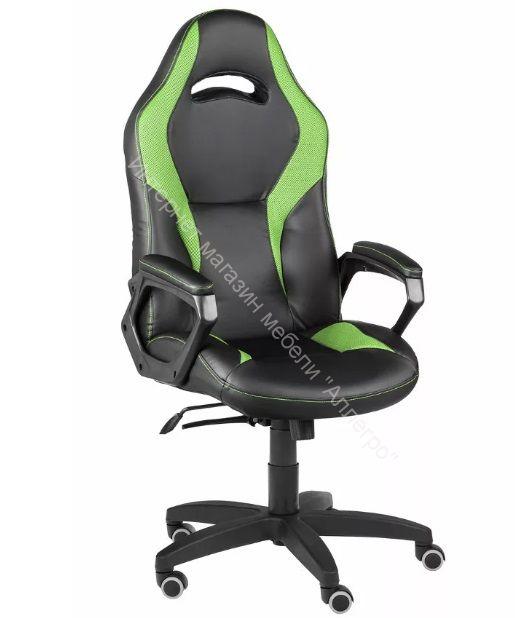 Игровое кресло Конкорд lux (чёрный/салатовый)