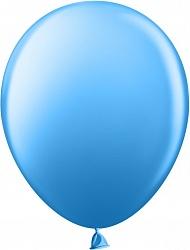 Шар (12''/30 см) синий, пастель, 100 шт.