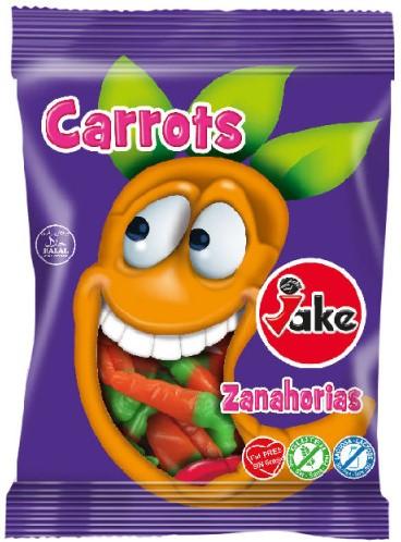 Мармелад Jake (морковки) 100г БЕЗ ГЛЮТЕНА