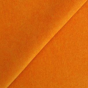 Лоскут ткани - Декоративная парусиновая, однотонный оранжевый 50*50 см.