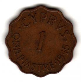 Кипр 1 пиастр 1945
