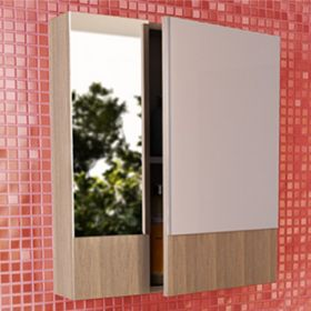Зеркало-шкаф Comforty Ницца-60 сосна лоредо
