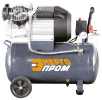 Компрессор масляный Энергопром КМ-3050х2, 50 л, 2.2 кВт