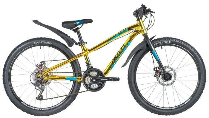 Подростковый горный (MTB) велосипед Novatrack Prime 18.D Золотой (140718)