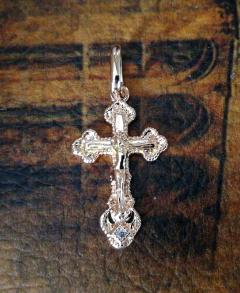 Позолоченный православный крест (арт. 788081)