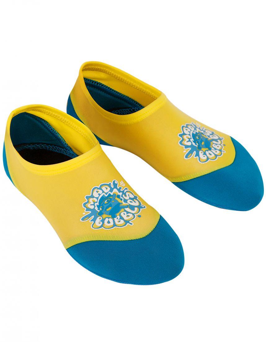 Акваноски для плавания юниорские Mad Wave SPLASH желтые