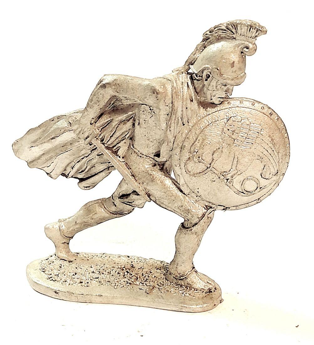 Фигурка Македонский гоплит с щитом 4 в. до н.э. олово