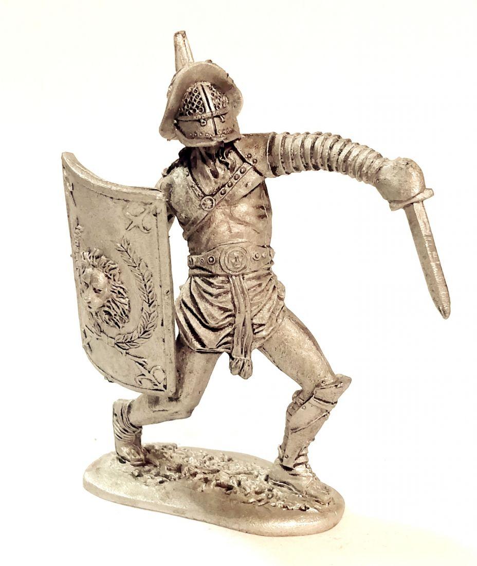Фигурка Римский гладиатор олово