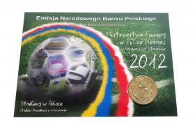 Польша 2 злотых - СТАДИОНЫ Евро-2012 (Стадион Варшавы), ОФИЦИАЛЬНЫЙ ВЫПУСК Msh