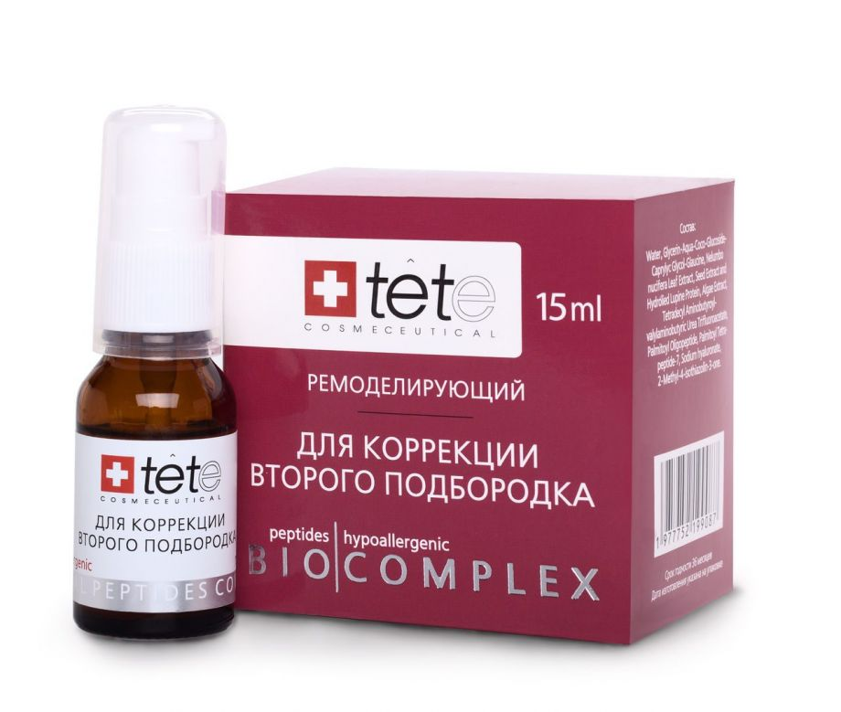Биокомплекс для коррекции второго подбородка Tete cosmeceutical (Тете косметик) 15 мл