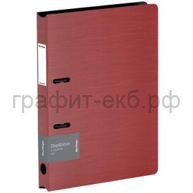 Папка А4 3.5см 2к.Berlingo Steel&Style красная PPf_95003