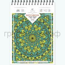 Блокнот А5 60л.нелин.Полином Sketchbook 100г/м2 23с7