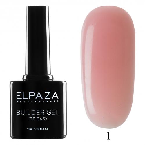 Гель для наращивания ELPAZA Builder Gel 01  15 мл