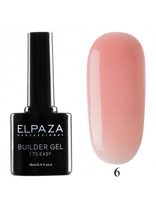 Гель для наращивания ELPAZA Builder Gel 06  15 мл