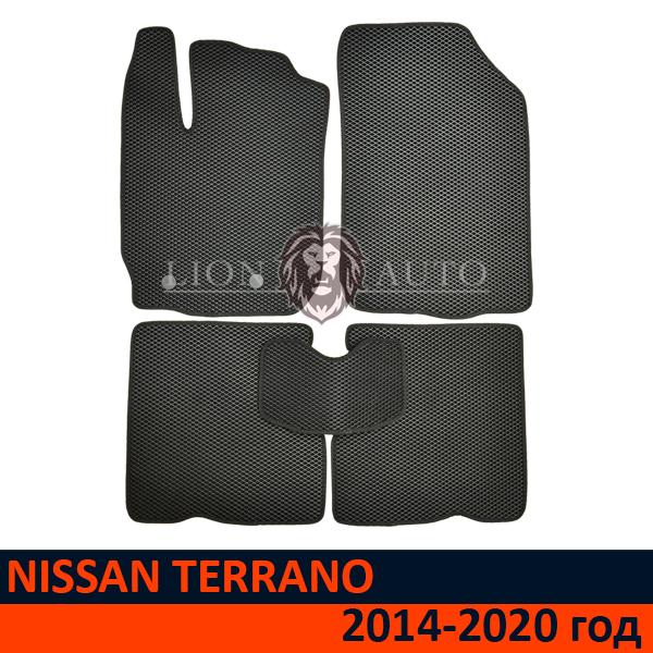 EVA коврики на NISSAN TERRANO (2014-2020г)