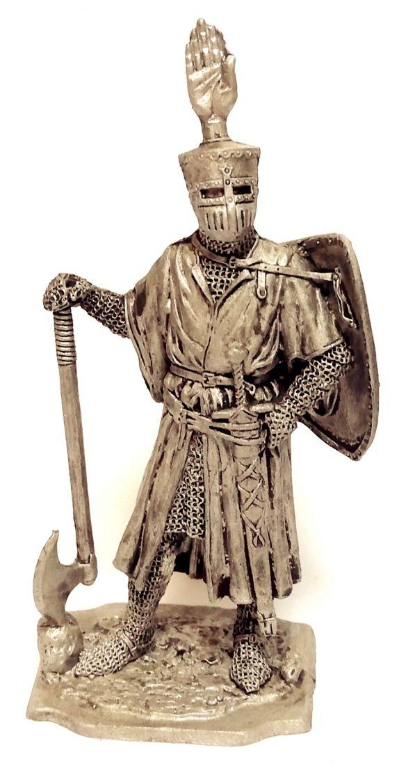 Фигурка Германский рыцарь 1200г олово