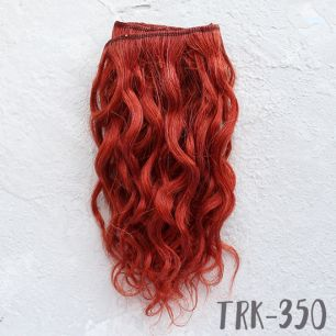 Тресс натуральный (козочка) - Красно-рыжий кудри