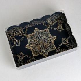 Коробка подарочная с PVC-крышкой «Роскошь», 20 × 30 × 8 см
