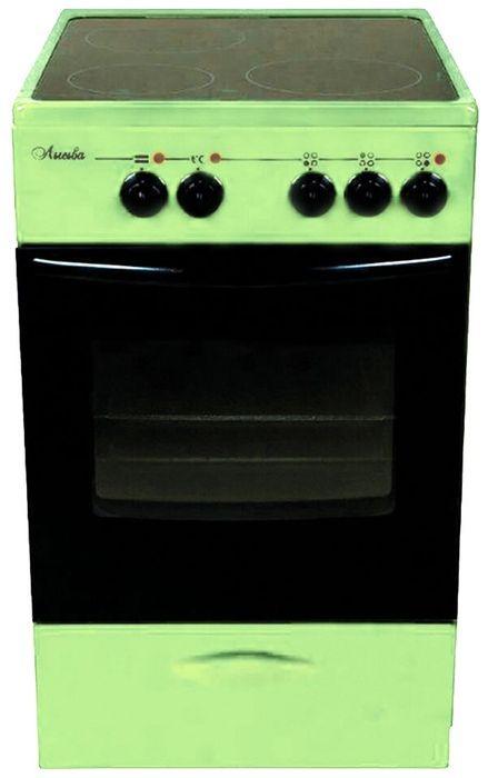 Электрическая плита Лысьва ЭПС 301 МС Зелёная (EF3001MK00)