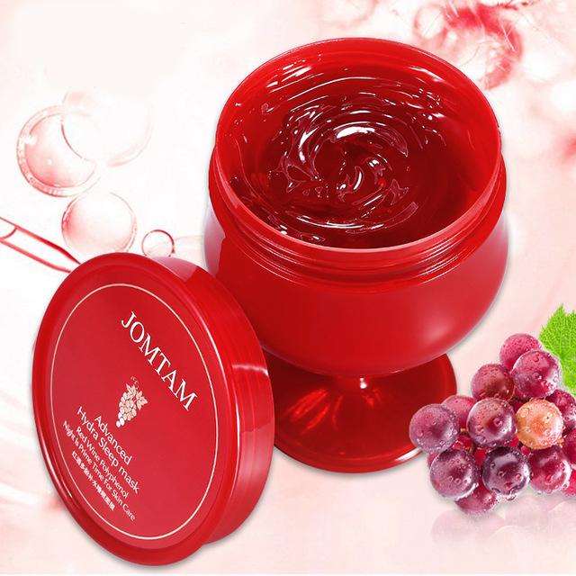 Ночная омолаживающая маска JOMTAM с экстрактом красного вина (y200)