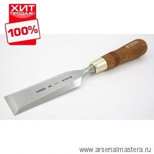 Стамеска плоская полированная NAREX PREMIUM 40 мм  811690 ХИТ!