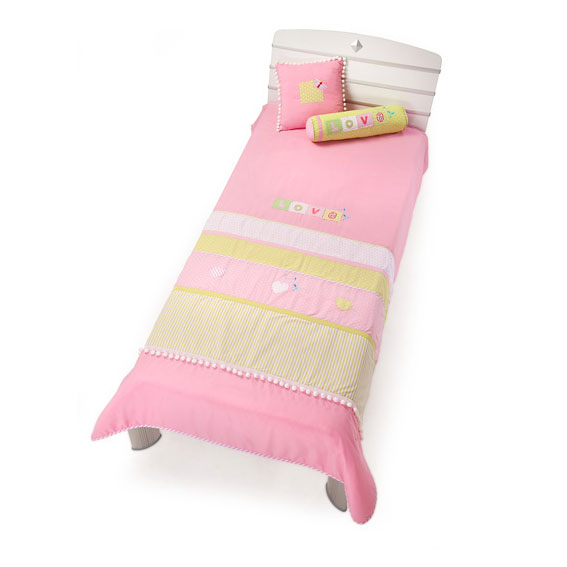 Комплект Love (покрывало 145x230 см, 2 декоративные подушки)