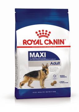 Royal Canin Maxi Adult Корм сухой для взрослых собак крупных размеров от 15 месяцев (Макси Эдалт)