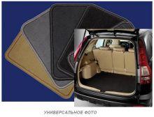 Коврик в багажник, Unidec, велюр на разложенный 3й ряд