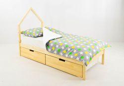 Кровать-домик мини Бельмарко Svogen (натуральный)