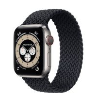 Часы Apple Watch Edition Series 6 GPS + Cellular 40mm Titanium Case with Charcoal Braided Solo Loop