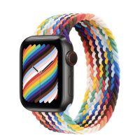 Часы Apple Watch Edition Series 6 GPS + Cellular 40mm Space Black Titanium Case with Pride Edition Braided Solo Loop