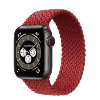 Часы Apple Watch Edition Series 6 GPS + Cellular 40mm Space Black Titanium Case with (PRODUCT)RED Braided Solo Loop