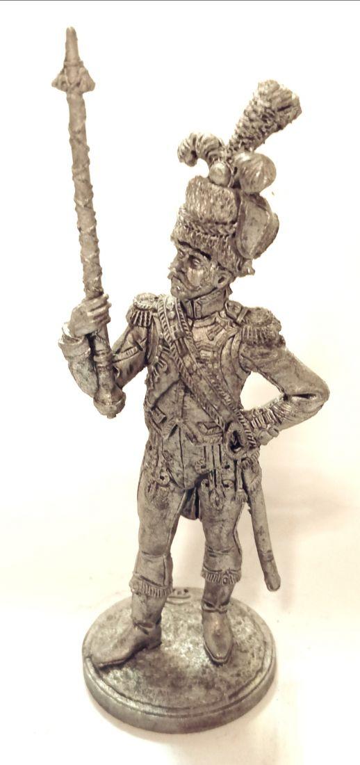 Фигурка Драм-мажор голландских гренадер олово