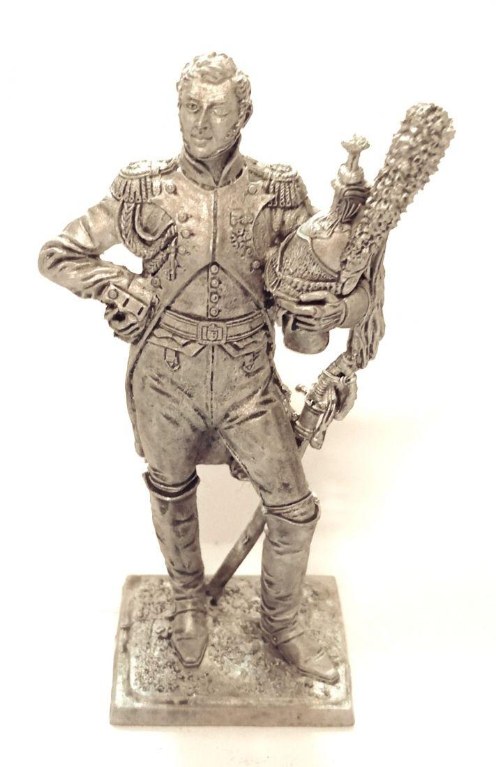Фигурка Полковник гвардейских драгун  Франция олово