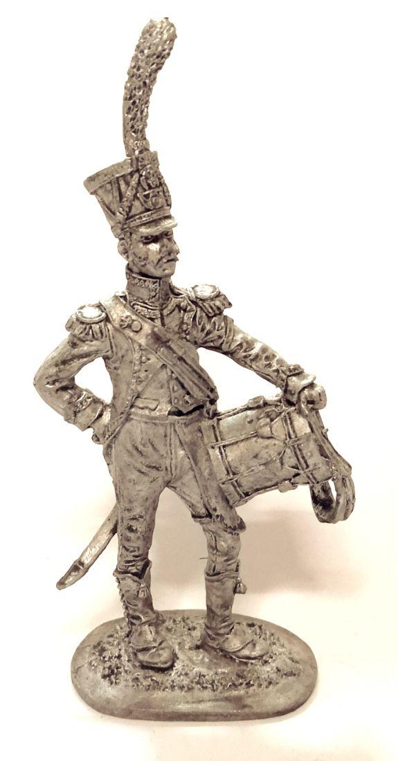 Фигурка Барабанщик легкой пехоты Франция олово