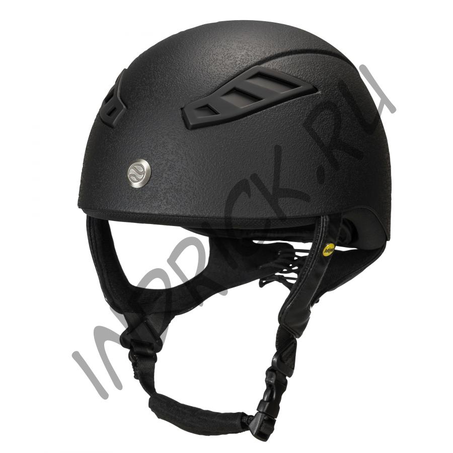 Шлем  для полевой езды EQ3 Lynx Eventing черный матовый