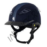 Шлем для верховой езды EQ3 Lynx Microcoup Синий Песок