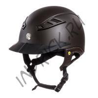 Шлем для верховой езды EQ3 Lynx Коричневый Топ
