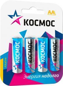 батарейка КОСМОС LR6 BL4 CLASSIC, 4/48/576
