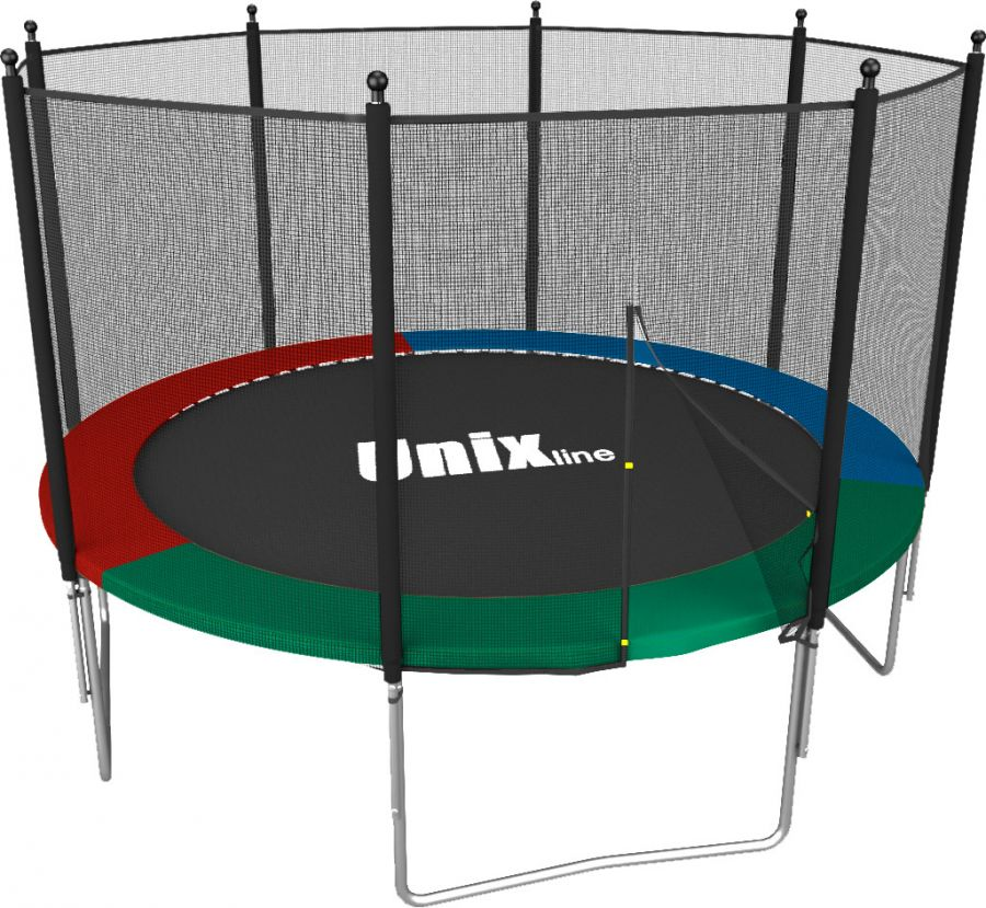 Батут UNIX line Simple 8 FT Color (Outside)