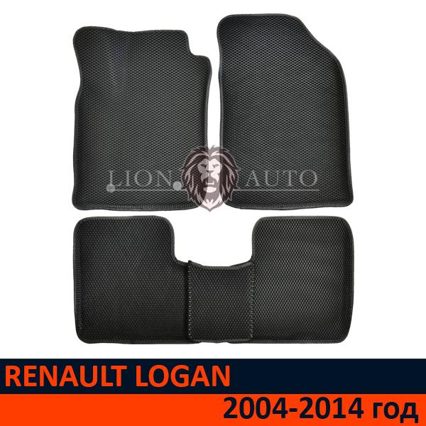 EVA коврики 3D на RENAULT LOGAN (2004-2014г)