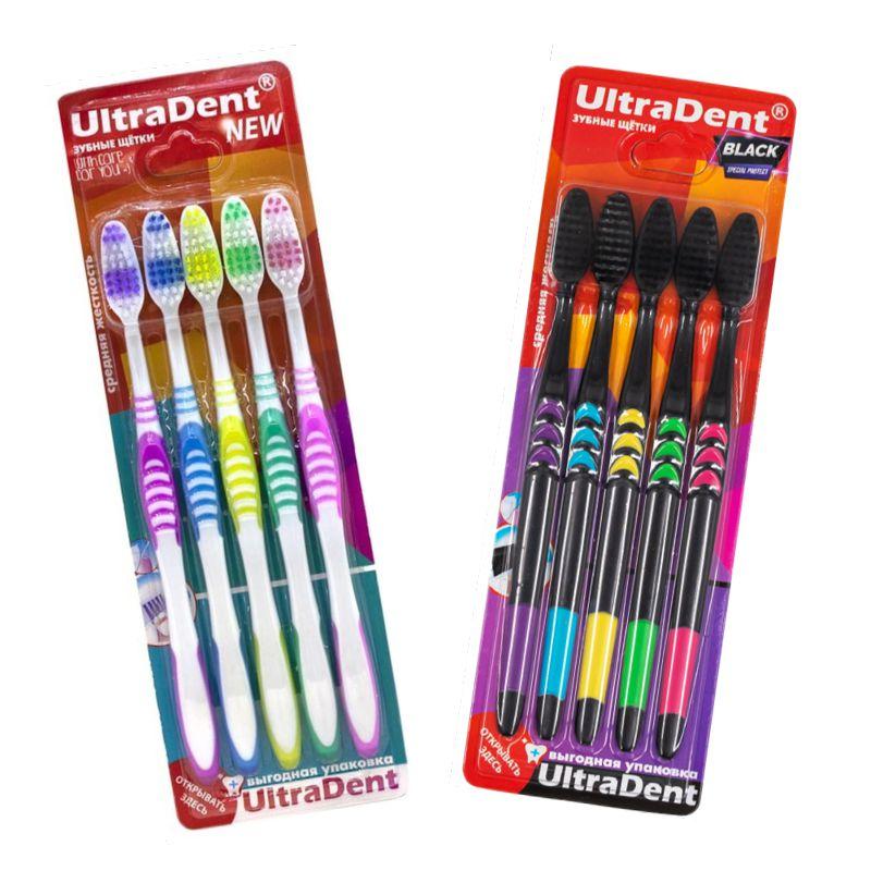 Набор зубных щеток UltraDent, 5 шт