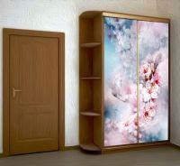 Наклейка на шкаф - Воздух пропитан нежностью | магазин Интерьерные наклейки