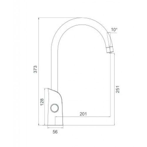 Смеситель для кухни со встроенным фильтром (краном) под питьевую воду Gappo G03-6 G4303-6