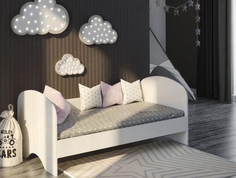 Кровать Нордик с округлой спинкой