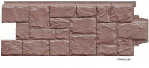 Крупный камень Элит (968*390мм) Миндаль, какао.