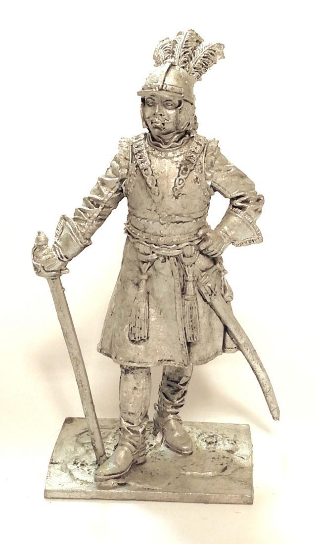 Фигурка Офицер драгунских полков, 1698-1704 гг. Россия олово
