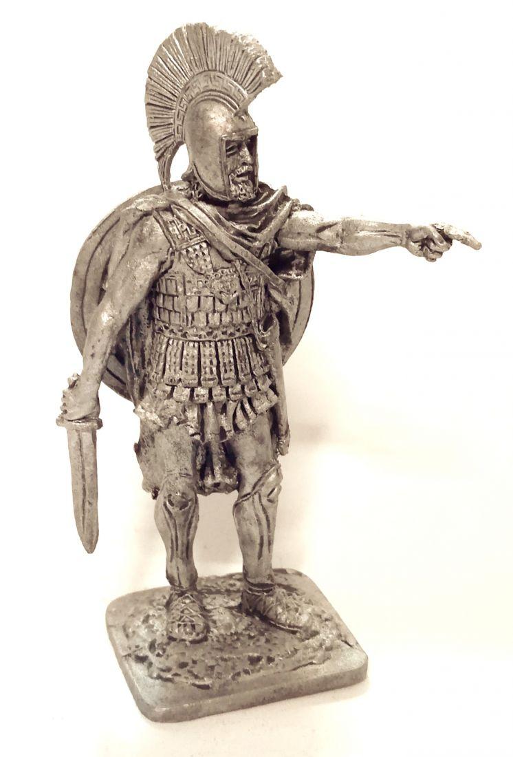 Фигурка Греческий гоплит, 5 век до н.э. олово