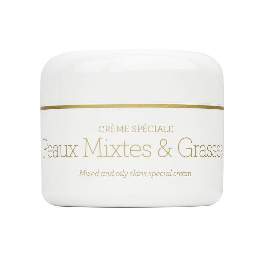 CRÈME SPECIALE PEAUX MIXTES ET GRASSES Крем для смешанной и жирной кожи Gernetic International (Жернетик) 50мл