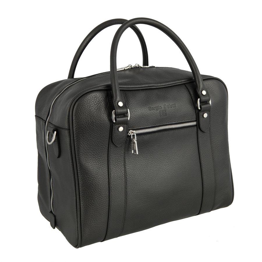 Дорожная сумка Sergio Belotti 8014 Napoli grey-brown